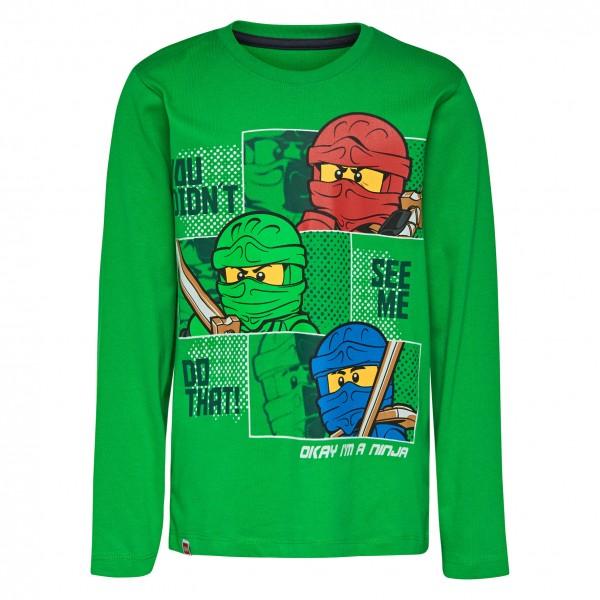 timeless design 8cf5c 06fd2 LEGO wear Ninjago Langarm Shirt grün M-72639