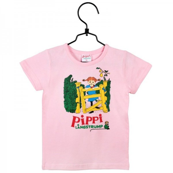Martinex Kurzarm Shirt Pippi rosa