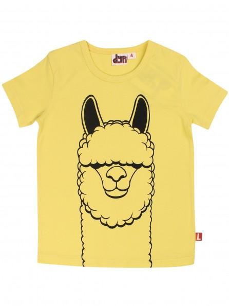 DYR Kurzarm Shirt LAMA Gelb