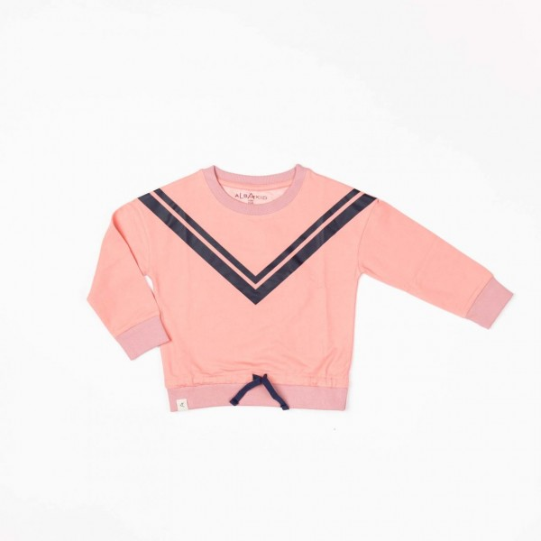 Albababy Estelle Sweat Branded Apricot