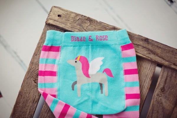Blade & Rose Mädchen Legging Unicorn Einhorn