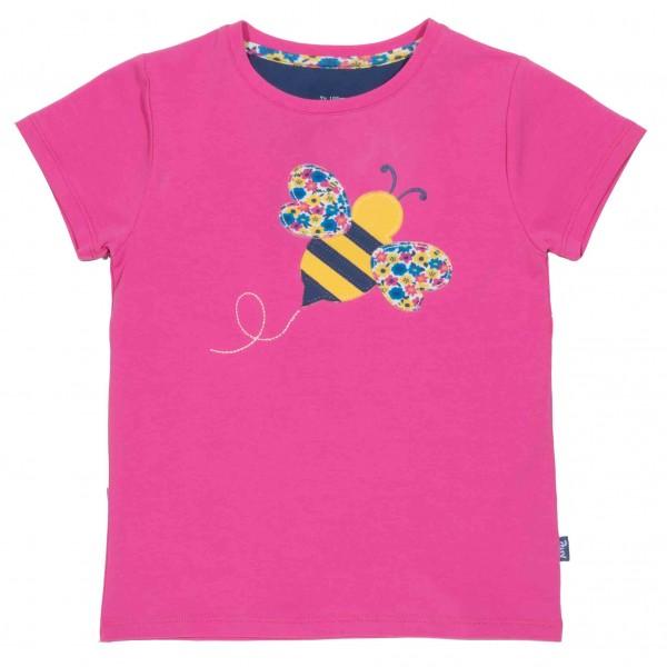 KITE Kurzarm Shirt Honey bee Biene