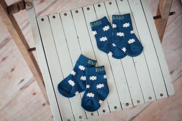Blade&Rose Socken Daisy blau