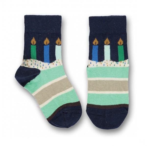 UBANG Socken Birthday Talkie Walkie Navy