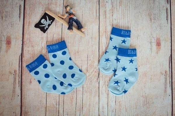 Blade & Rose Socken blau
