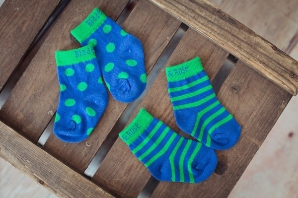 Blade & Rose Socken blau grün