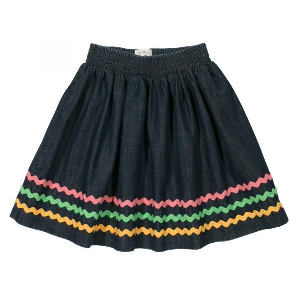 KITE Ric Rac Denim Skirt Jeans Rock