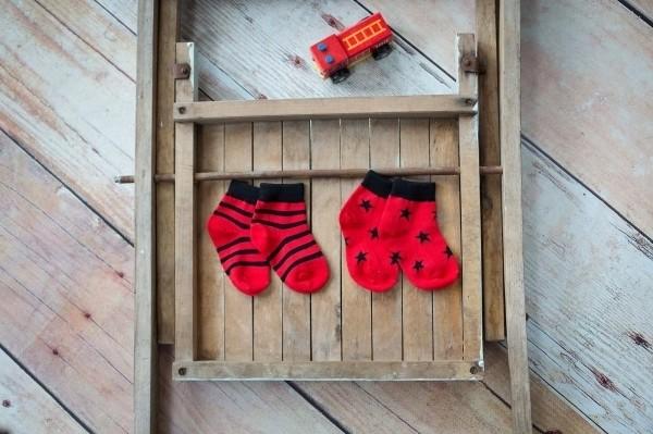 Blade & Rose Socken Schwarz-Rot