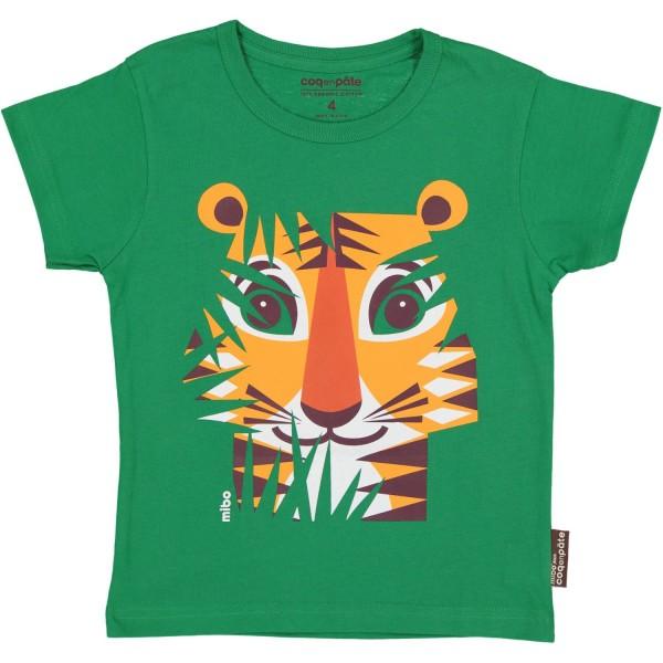 Coq en Pate Kurzarm Shirt Tiger