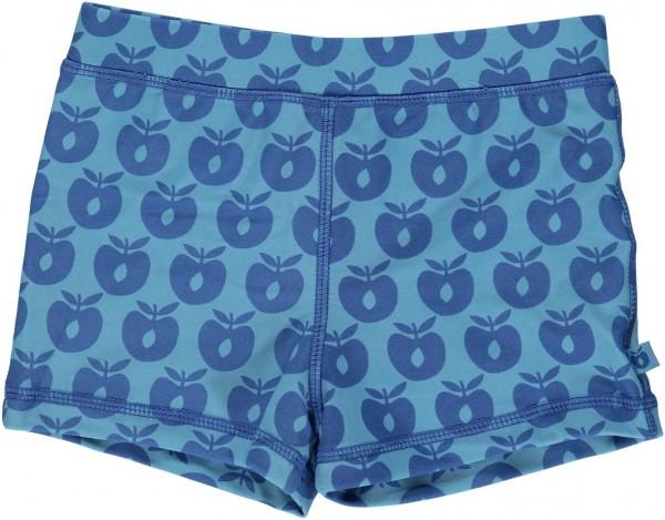 smafolk Badehose Äpfel Apples blau UV50+