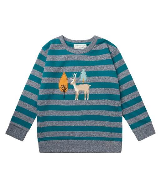 Sense Organics FINN Sweatshirt gestreift DEER