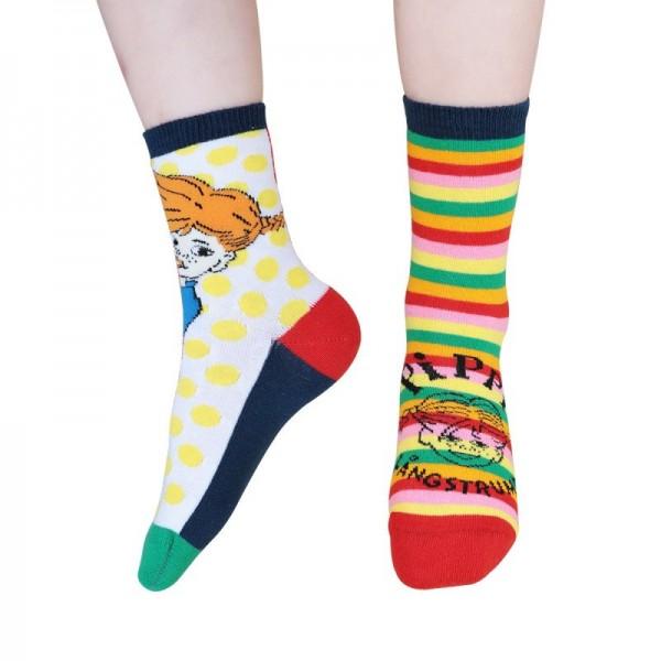 Martinex Pippi Colourful Socks 2er Pack