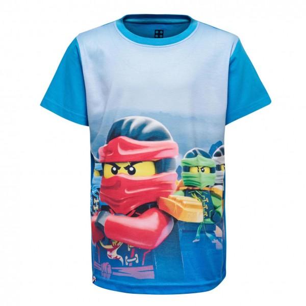 LEGO Ninjago Kurzarm Shirt blau M-72506