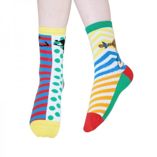 Martinex Pippi Happy Socks 2er Pack
