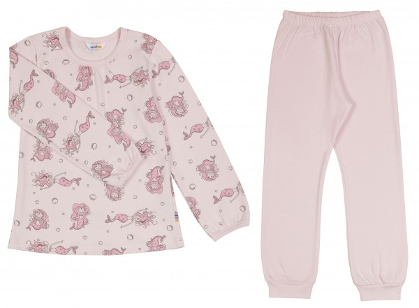 the best attitude b9330 2021e Joha Pyjama Set lang Schlafanzug Meerjungfrau