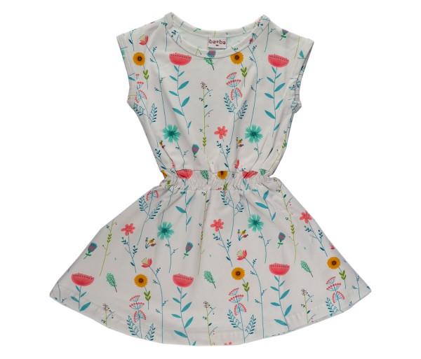 Baba Babywear Kleid LISA Blumen weiß