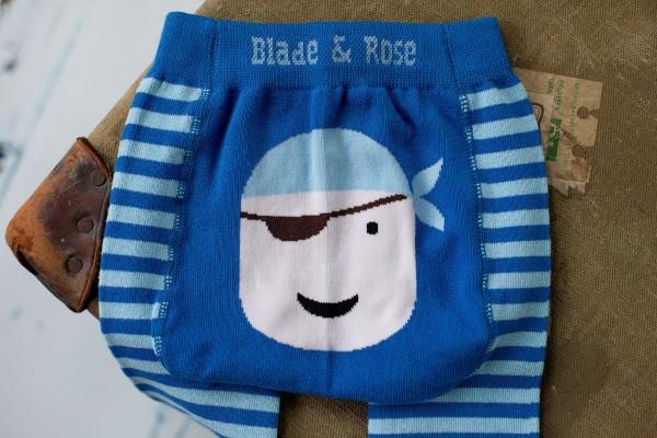 Blade & Rose Legging Pirat blau
